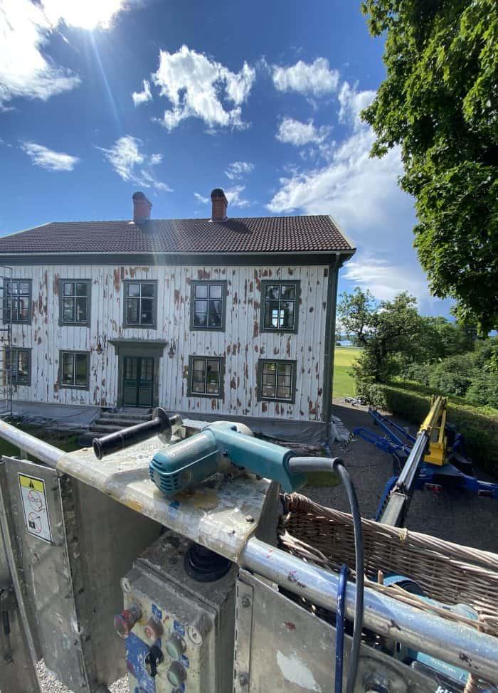 måla ditt hus utvändigt